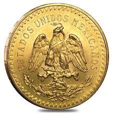 1925 50 peso mexican gold coin