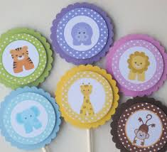 Cake Decorations At Home by Interior Design Cool Baby Themed Cupcake Decorations Design