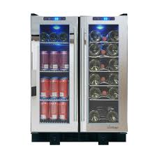 Wine Cabinet With Cooler by Vinotemp Economy 440 Bottle Wine Cabinet Vino 600e Latw The Home