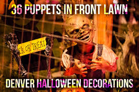 amazing monster mash bash halloween house light show u0026 decorations