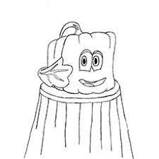 spookley square pumpkin coloring pages funycoloring
