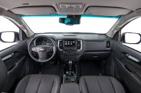 chevrolet trailblazer 2008 2017 chevrolet trailblazer facelift interior unveiled indian