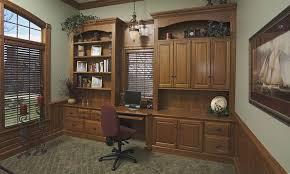 Custom Home Office Cabinets In Ohio Hardwood Home Office Cabinets Schlabach Wood Design