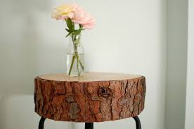 tree cross section table diy wood cross section decor ideas