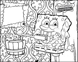 Brushing Teeth Coloring Pages For Kids Printable Picture Brushing Teeth Coloring Pages