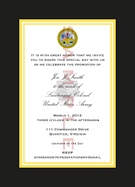 army birthday invitations promotion invitation templates