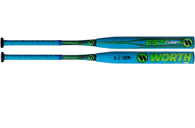worth softball bat est comp xl usssa balanced slowpitch softball bat