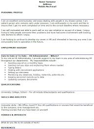 Sample Resume Human Resources by Beautiful Human Resources Administration Sample Resume Extremely