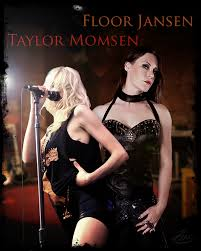 singers floor jansen and taylor momsen by pzns on deviantart