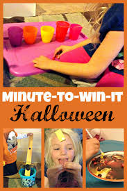 minute to win it halloween candy game night more excellent me