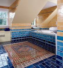37 navy blue bathroom floor tiles ideas and pictures navy blue