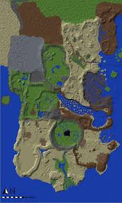 kalimdor map of minecraft minecraft project