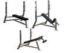 Body Solid Folding Bench Olympic Flat Bench Ebay
