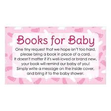 bring a book baby shower books for baby request cards girl baby shower
