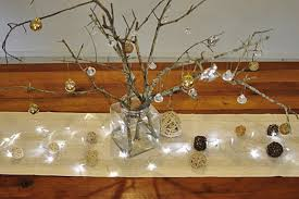 Christmas Tree Table Decoration Ideas by Table Decoration Stick Christmas Tree Be A Fun Mum