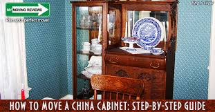 how to arrange dishes in china cabinet how to move a china cabinet step by step guide