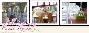 table and chair rental prices all seasons event rentals price list