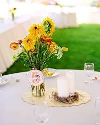 Flowers For Home Decor by Yellow Wedding Centerpieces Martha Stewart Weddings