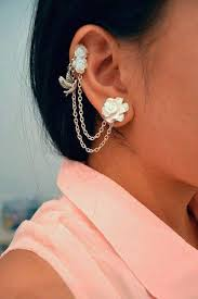 earrings on top of ear absolutely staggering top ear piercings inkdoneright