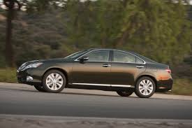 2010 lexus sedans 2010 lexus es350 facelift with mild cosmetic revisions and
