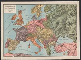 Europe Map During Ww1 A Momentary View Of Europe