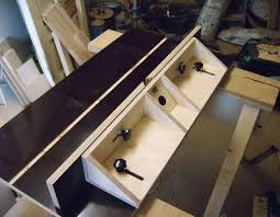 wood router table fence design pdf plans