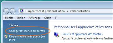 comment remettre l icone corbeille sur le bureau retrouver la corbeille sous windows 7 ou vista