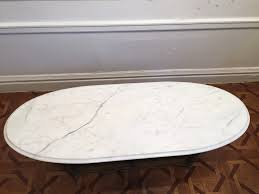 Oval Marble Coffee Table Craigslist Finds 2 U2014 Synonymous