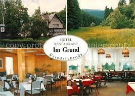 Ak Ansichtskarte Friedrichroda Blick Vom Herzogsweg Friedrichroda Grund Blick Vom Hotel Bellevue Friedrichroda Nr