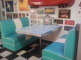 diner style booth table 50 s style retro diner perfect for a man cave or basement