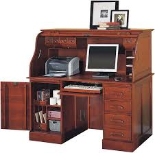 Top Computer Desk Furniture Cherry Roll Top Computer Desk For Home Office
