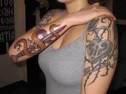 men cute small japanese tattoo snake design idea for men and women