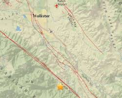 another earthquake hits along san andreas fault east of monterey