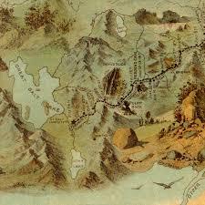 Utah Us Map by Route Of The Mormon Pioneers 1846 1847 Nauvoo To Utah Framed