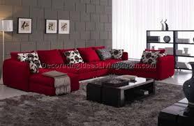 Pretty Design Ideas  Red Sofa Living Room Home Design Ideas - Red sofa design ideas
