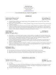 Chronological Sample Resume by Security Resume Doc Format For Freshers Resume Format Canada