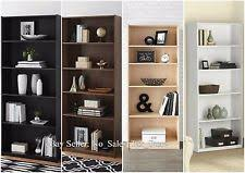 Dark Wood Bookshelves by Wooden Bookshelves Ebay