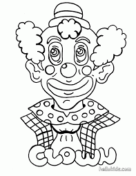 clown printable coloring pages coloring home