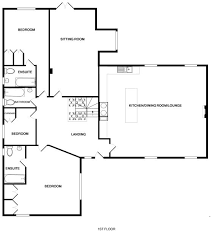 Holiday House Floor Plans Old Brea Coach House Luxury Self Catering Holidays In Daymer Bay