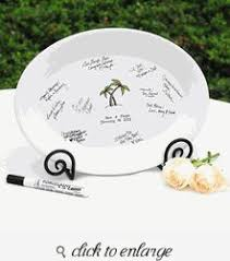 wedding platter guest book our wedding day guest book platter guest book ideas for wedding