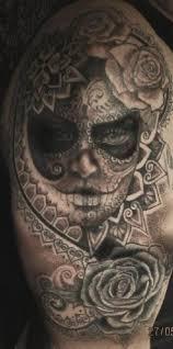 sugar skull black design of tattoosdesign of tattoos