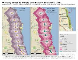Chicago Transit Authority Map by Chicago Cta Rpm Station Consolidation Analysis Part Iii Gis