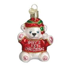 Christmas Ornaments For Baby Baby Ornaments Old World Christmas Callisters Christmas