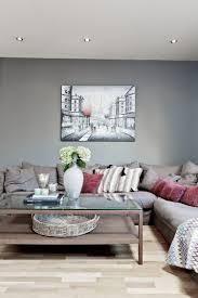 graue wandfarbe wohnzimmer graue wandfarbe und taupe ecksofa und wandbild wohnzimmer