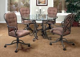 dining room sets with casters chairs 280 caster chairs with 42 x