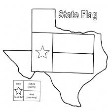 creative decoration texas coloring pages state flag page free