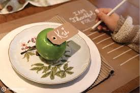 it s kriativ diy thanksgiving place setting