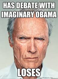 Wtf Meme - wtf meme has debate with imaginary obama loses picture golfian com