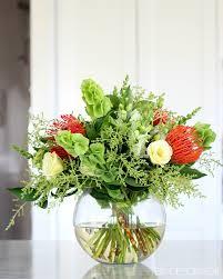 how to create a christmas flower arrangement diy decorator