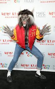 the model in her werewolf costume an homage to michael jackson u0027s
